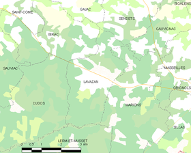Map commune FR insee code 33235.png