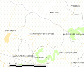 Map commune FR insee code 33384.png