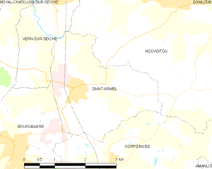Map commune FR insee code 35250.png