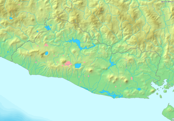 Map of El Salvador Demis.png