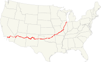 Map of US 66.svg