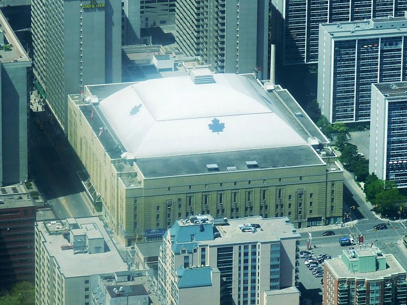 Tiedosto:Maple Leaf Gardens, east side.JPG