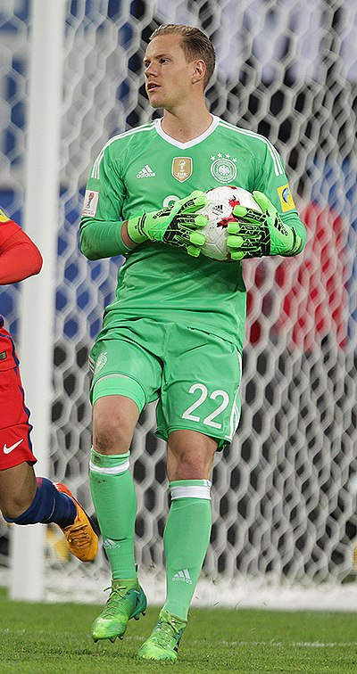 cb24ff6f4 Ter Stegen playing for Germany in 2017. Personal information. Full name