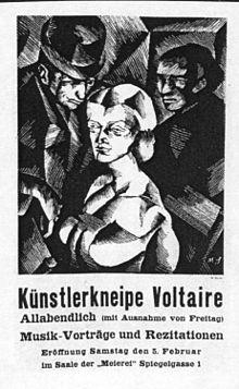 Resultado de imagen para Cabaret Voltaire