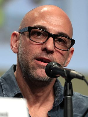 Marcos Siega - Siega at the 2014 San Diego Comic Con International