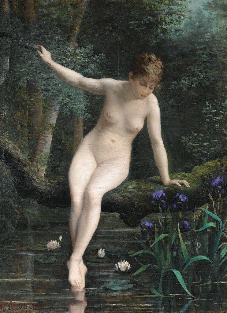 Время купаться! Картины про женщин в воде