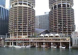 Marina City - The Marina City marina.
