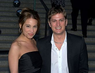 Rob Thomas (musician) - Thomas and his wife Marisol at the 2010 Tribeca Film Festival.