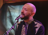 Marko Halanevych (DakhaBrakha) (Haldern Pop 2013) IMGP6718 smial wp.jpg