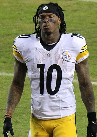 Martavis Bryant - Bryant with the Steelers in 2016