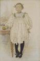 Martha Winslow as a Girl (Carl Larsson) - Nationalmuseum - 25897.tif