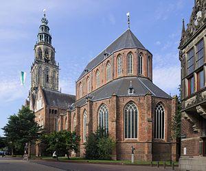Martinikerk (Groningen) - Image: Martinikerk, Groningen 1144