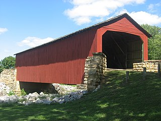 Marys River Covered Bridge place in Illinois on the National Register of Historic Places
