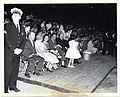 Mary Collins and Mayor John F. Collins sit in front of an audience (12462429553).jpg