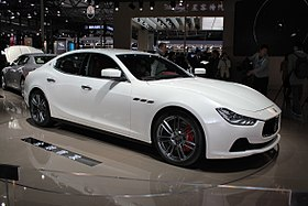 image illustrative de l'article Maserati Ghibli III