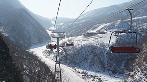 Masikryong Ski Resort - Image: Masikryong North Korea Ski Resort (12299601295)