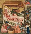 Master of the Vyšší Brod Altarpiece - Nativity - Google Art Project.jpg