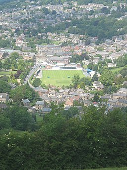 Matlock Town Football Club, Causeway Lane, Derbyshire