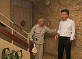 Mauricio Macri supervisó obras en el barrio Piedrabuena (8284525475).jpg