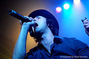Paul Smith (rock vocalist) - Image: Maximo Park @ Club Capitol (17 11 2009) (4140011248)
