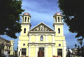 Catedral Nuestra Señora de la Candelaria (Mayagüez, Puerto Rico) - Cathedral as seen in 2005 after renovations