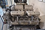 Maybach V12 Engine for the AMX 50 post war tank (Prototype) (41450604210).jpg