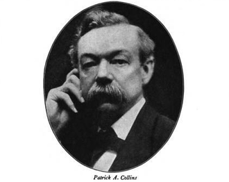 Patrick Collins (mayor) - Image: Mayor PA Collins