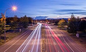 McKenzie Ave at dusk, Saanich, Canada 01.jpg