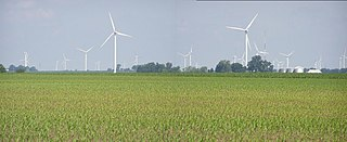 Meadow Lake Wind Farm Wind farm in Indiana, USA