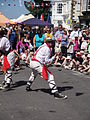 Mechanical Morris Dancers at Yarmouth Old Gaffers Festival 2011 3.JPG