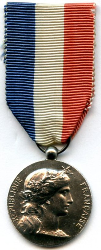 Honour medal of Foreign Affairs - Image: Medaille d'honneur des affaires etrangere type 1