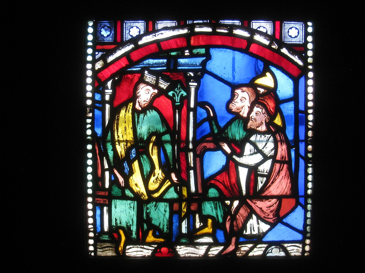 File Medieval Stained Glass Worcester Art Museum Img