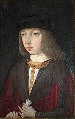 Filips de Schone als jongeling