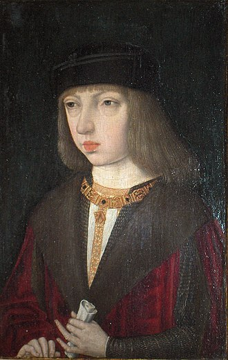 Pride and Joy: Children's Portraits in The Netherlands 1500-1700 - Image: Meester van de Magdalenalegende Filips de Schone als jongeling