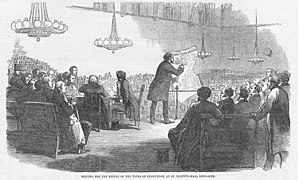 Taxes on knowledge - Meeting for the Repeal of the Taxes on Knowledge, 1851