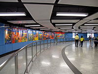 Mei Foo Station Access to West Rail 201107.jpg