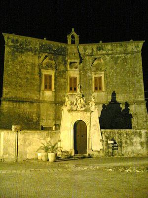 Melendugno - Image: Melendugno palazzo D'Amely