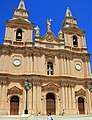 Mellieha Parish church Malta 2.jpg