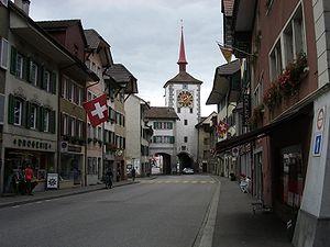 Mellingen - Mellingen village