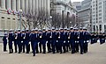 Members of the U.S. Coast Guard Honor Guard march past the presidential reviewing stand during a dress rehearsal for the presidential inaugural parade in Washington, D.C 130113-A-DH167-046.jpg