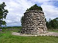 Memorial cairn on Culloden battlefield - geograph.org.uk - 373503.jpg