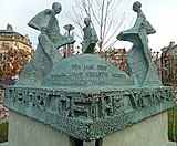 Memorial to Valley Parade Fire, Bradford (Taken by Flickr user 25th February 2012)