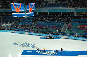 Netherlands at the 2014 Winter Olympics - Sjinkie Knegt won bronze at the 1000 m.
