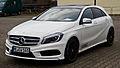 Mercedes-Benz A 180 AMG Line (W 176) – Frontansicht, 1. März 2014, Velbert.jpg