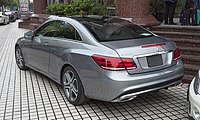 Mercedes-Benz E-Class C207 facelift 02 China 2014-04-22.jpg