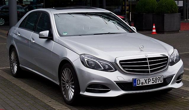 Mercedes Benz E  E Amg Line Uk Spec W