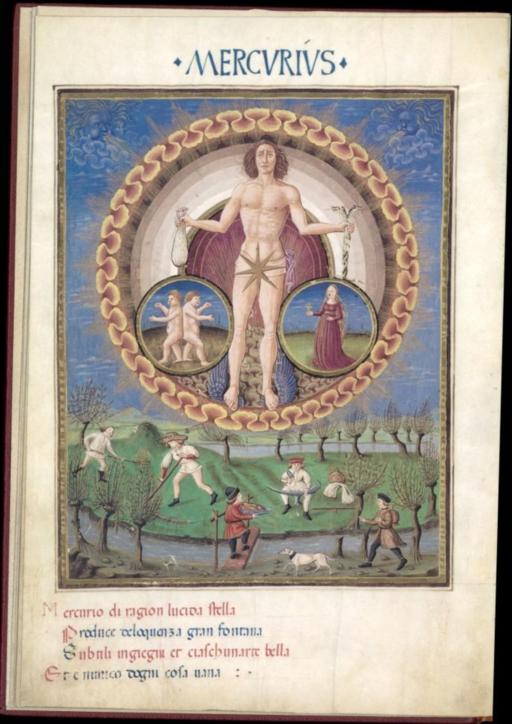Mercurius - De Sphaera - Biblioteca Estense lat209