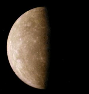 Distant Mercury image from Mariner 10. Process...