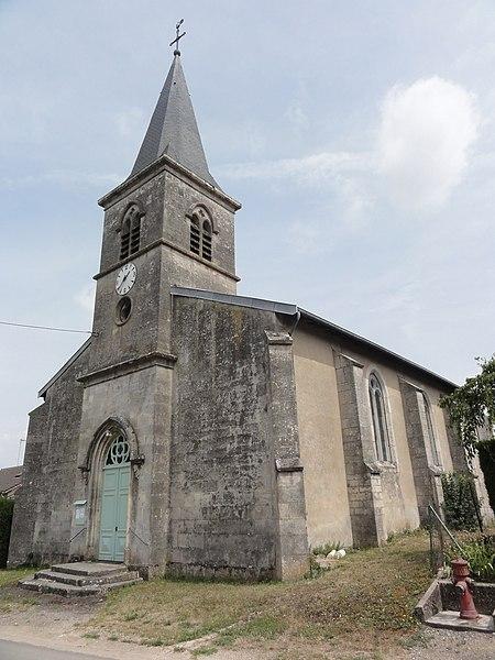 Mesnil-sous-les-Côtes (Bonzée, Meuse) église