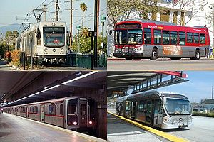 Los Angeles County Metropolitan Transportation Authority - Four Metro-operated modes of service.